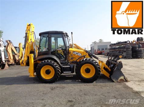 JCB 4CX, 199mth, bez AD BLUE, bez DPF - Backhoe loaders
