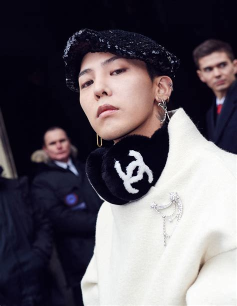 Photos of G-Dragon at the 2017 Chanel Haute Couture Event