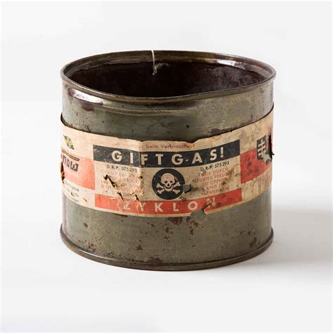 Can of Zyklon B | Spertus Institute Collection Highlights