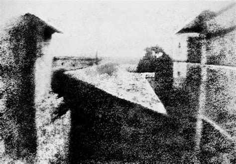 The First Photograph In History Taken By Joseph Nicéphore