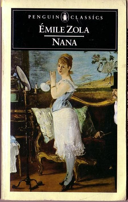 Emile Zola NANA book cover scans