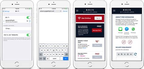 Delta to Offer Free In-Flight Access to iMessage, WhatsApp