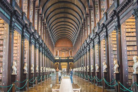 Travel || Trinity College Library - Rhyme & Ribbons