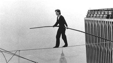 Philippe Petit's Moment of Concern Walking the WTC Tightrope