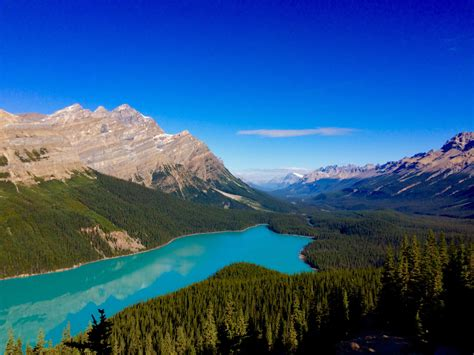 Banff National Park Alberta, Canada is living up to
