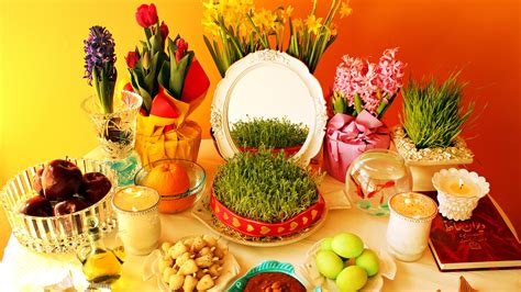 Nowruz: Persian New Year's Table Celebrates Spring