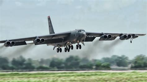Barksdale's B-52 Bombers In Action - YouTube
