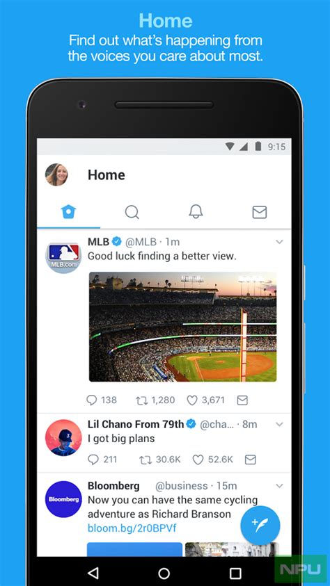 Twitter for Android updated with UI changes