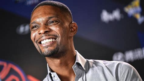 While Chris Bosh still wants an NBA gig, he's trying a new