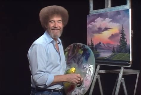 The Late PBS Painter Bob Ross Is Making His Museum Debut