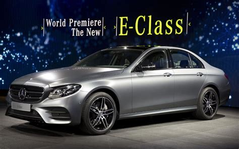 New Mercedes E-class revealed