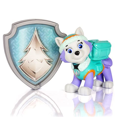 Paw Patrol Action Pack Pup & Badge - Everest