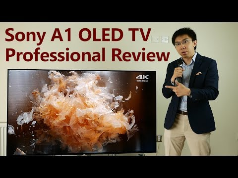 Review: Sony A1 OLED TV (2017) – Pickr