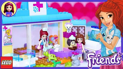 Lego Friends Juniors Mia's Vet Clinic Build Review Silly
