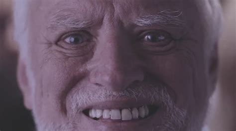 The Official Hide The Pain Harold website, behind the meme