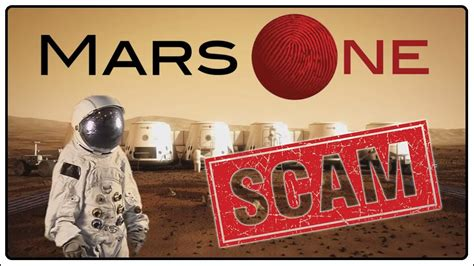 Mars one finalist announces that it's all a scam - YouTube