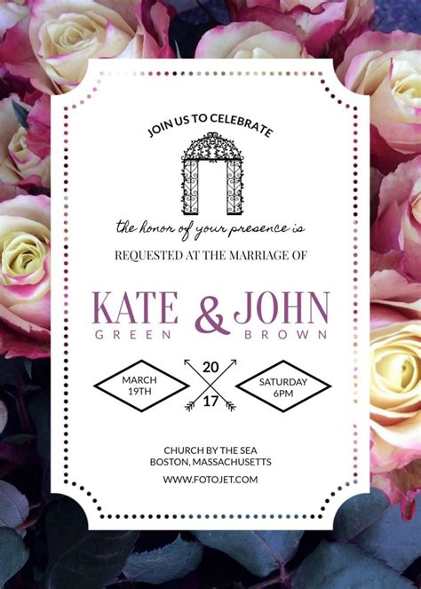 3 Beautiful FREE Wedding Invitation Templates That You Can