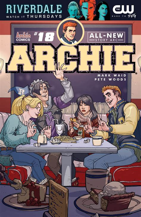 Preview: Pete Woods arrives to Riverdale with 'Archie' #18