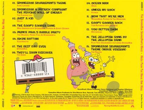 The SpongeBob SquarePants Movie: Music From the Movie and