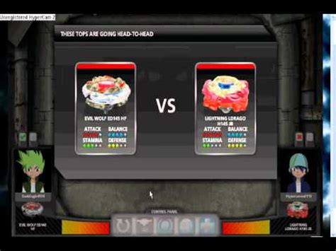 beyblade online battle - YouTube
