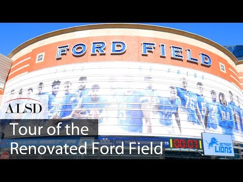 Ford Field Seating Chart - In Play! magazine