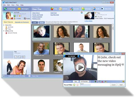 iSpQ VideoChat - Free download and software reviews - CNET