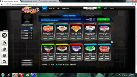 How to play beyblade battle online for free (no need to