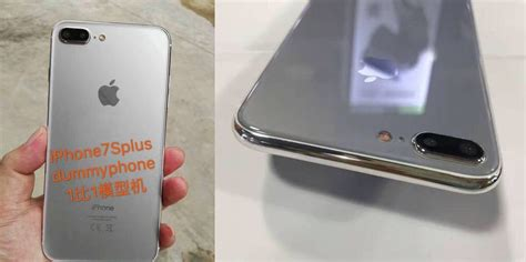 'iPhone 7s' dummy model depicts glass back design as