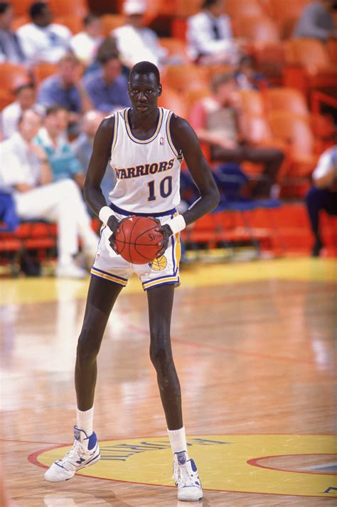 How Manute Bol Was Reportedly Playing In The NBA When He