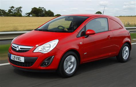Vauxhall Corsa Selling Well… as a Van - autoevolution