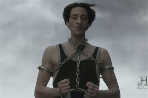 Adrien Brody Can't Escape Death as Harry 'Houdini' in