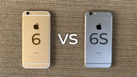 iPhone 6 vs iPhone 6S - 2019 Comparison - YouTube
