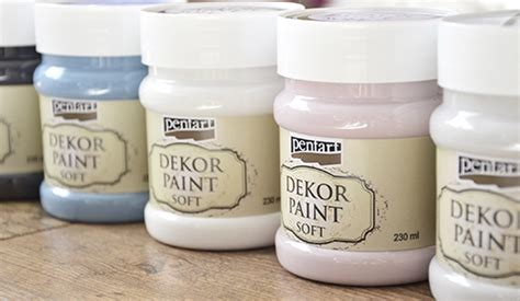 Pentart dekor: Dekor Paint Soft - this is the beginning of