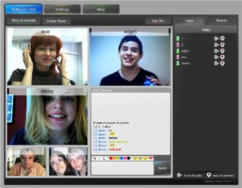 Download Video Chat Rooms Software: Power Video Chat