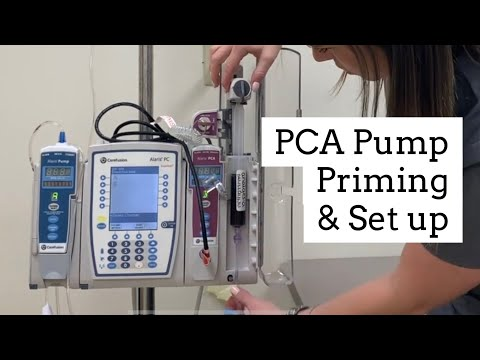 Hospira Lifecare Pca Pump IV Infusion - Model Information