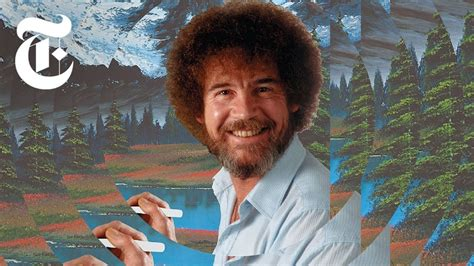 Where did all of Bob Ross' paintings go? / Boing Boing