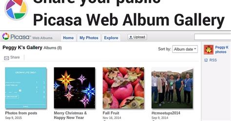 Picasa Web Albums is the new (old) home of your public