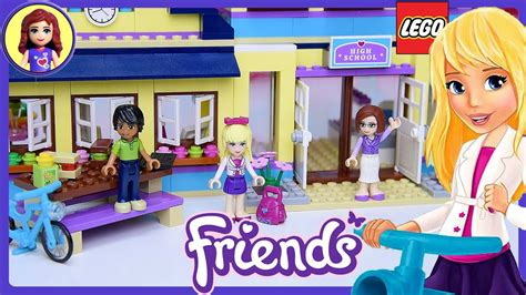 Lego Friends Heartlake High School Build Review Silly Play