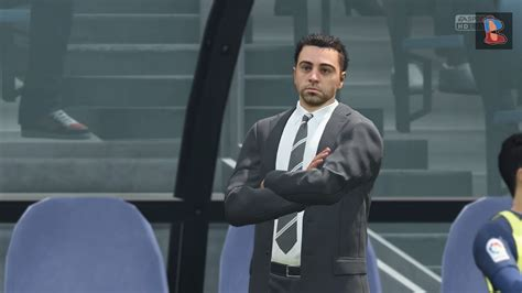 XAVI HERNANDEZ as FC BARCELONA MANAGER FIFA 18 - YouTube