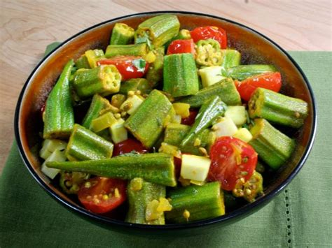 Spiced Okra : Recipes : Cooking Channel Recipe | Bal