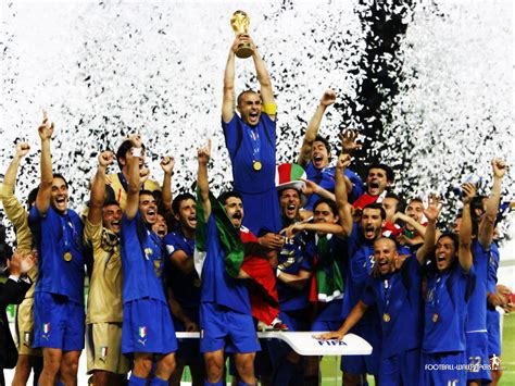 Italy Team in FIFA World Cup 2006   Story Around Every Corner