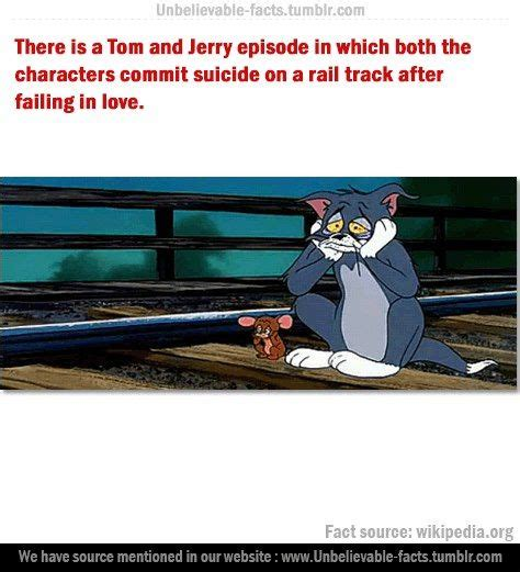 Tom and Jerry committed suicide in their last episode