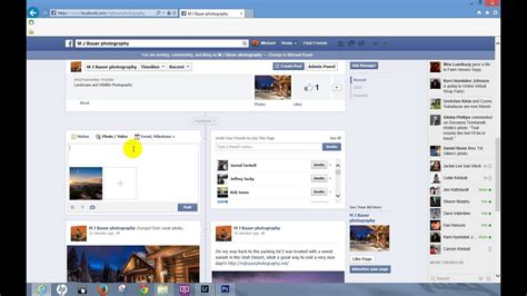 How to Add a Clickable Website Link to Facebook - YouTube