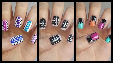 Easy Nail Art For Beginners!!! #16 | JennyClaireFox - YouTube