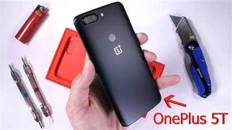OnePlus 5T Durability Test! Scratch and Bend tested! - YouTube